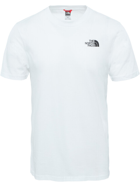 The North Face Simple Dome S/S Tee Men TNF white